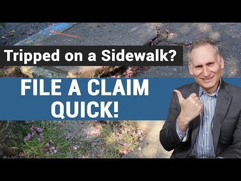 Slip and fall accidents  - the world is not flat