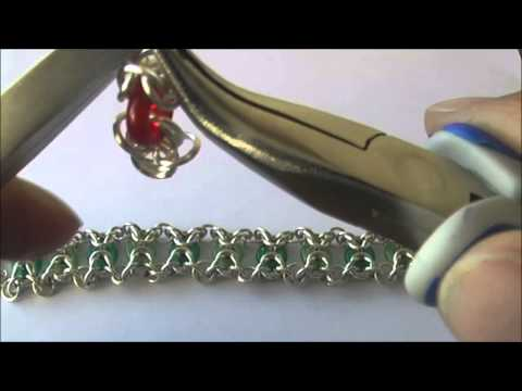 Olivia chainmaille armband