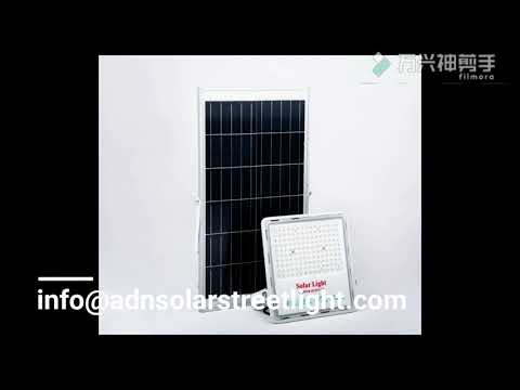 Hot sale new design solar flood lights in Amazon