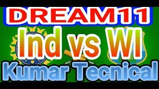 Dream11 India vs West Indies 2nd Match My Best Dream11 Teams In Hindi 2017
