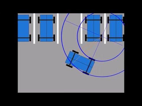 PSLSAMP Summer  Research 2015:  Self Parking  Algorithm Concept