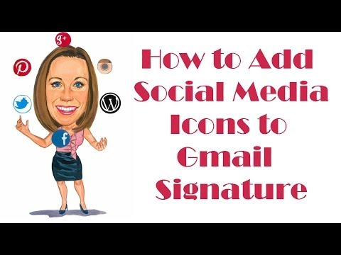 How to Add Social Media Icons to Gmail Signature