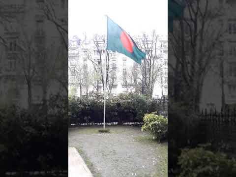 Visited Embassy of Bangladesh Paris France