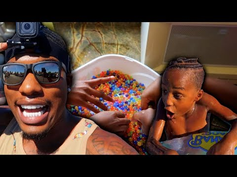 KIDS TURN DOWN ORBEEZ TO GO TO GIANT WATERPARK!