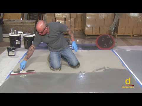 How to install Concrete Micro-Topping over Gypsum Substrate? Part 2/3