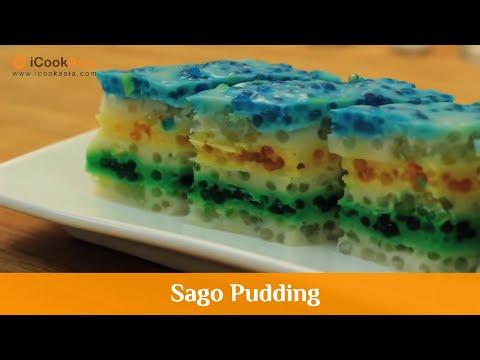 Sago Pudding | iCookAsia