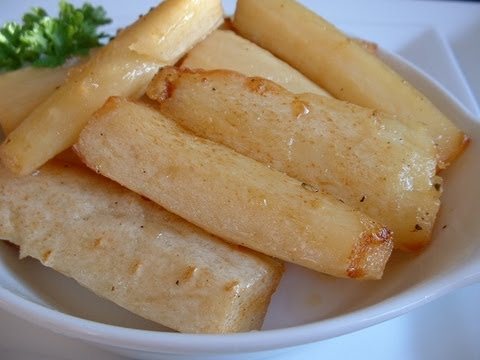 Roasted parsnips with honey