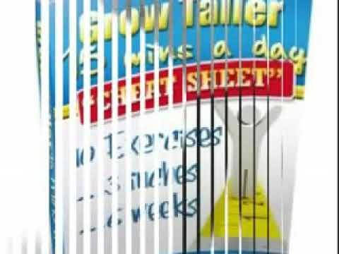 Grow Taller SECRETS Guide - FREE Grow Taller Secrets Book
