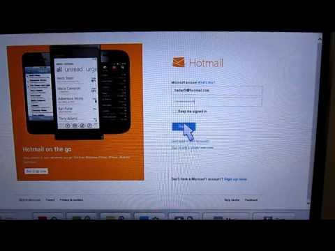 hotmail login UK