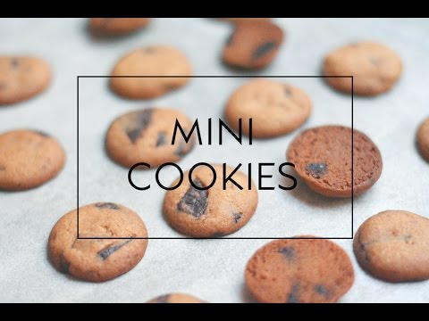 MINI CHOCOLATE CHIPS COOKIES  (GALLETAS ) | Las María Cocinillas
