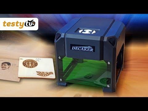 Chiny: Decaker Mini wypalarka - Laser 1500mW
