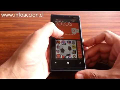 Cómo realizar una captura de pantalla en un Windows Phone 8.0