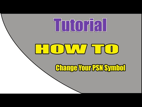 ▶▷►[ PS3 / CFW ] How To Change Your PSN Symbol◄◁◂