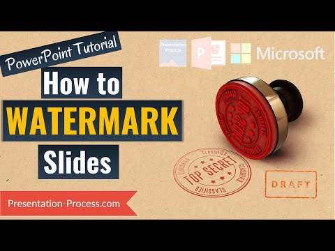 How to Add logo and Watermark in PowerPoint 2016