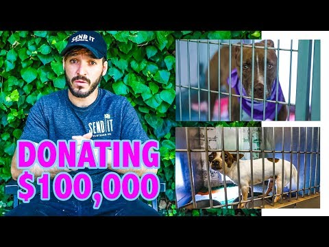 DONATING $100,000 TO CHARITY! (Please Watch! Need YOUR help!)