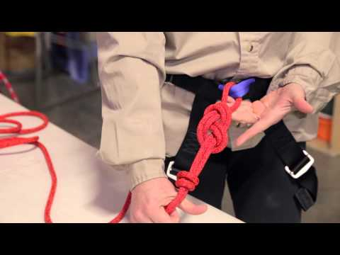 Climbing Knots Tutorial - Figure Eight, Clove Hitch, Overhand on a Bight