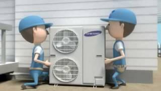 SAMSUNG ECO Heating System heat pump