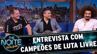 Entrevista com Bob Junior, Carlyto e Juventud Guerrera | The Noite (13/11/17)