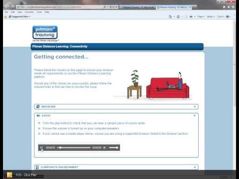 Checking Audio - Internet Explorer