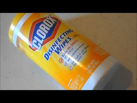 Eliminate the smell on your hands from using disinfecting wipes