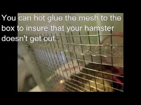How to: Make A Hamster Bin Cage
