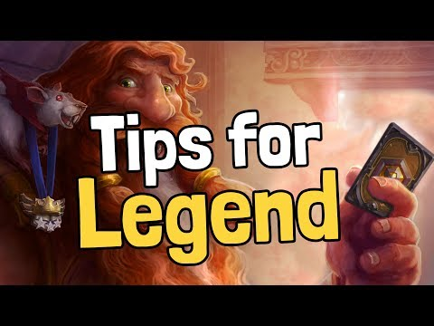 Top 8 Tips for Reaching Legend - Hearthstone