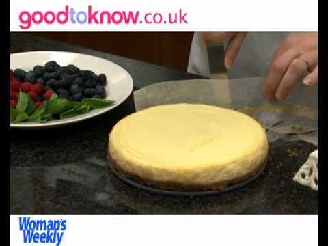 How to make American baked cheesecake