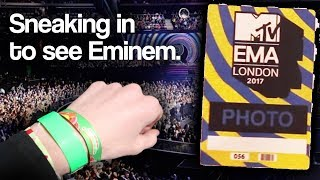 SNEAKING INTO THE MTV EMA 2017 BACKSTAGE WITH A FAKE PASS (ARRESTED)
