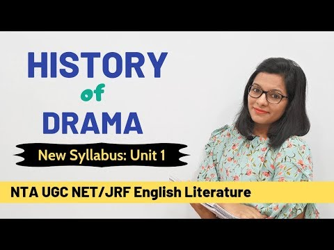 History of British Drama- Major Plays & Dramatists (Part 1)