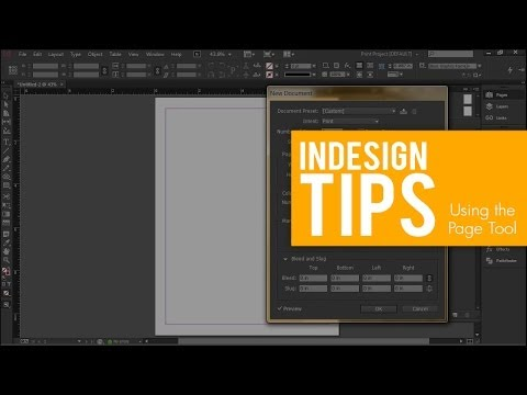 INDESIGN TIPS | Multiple Page Sizes with the Page Tool