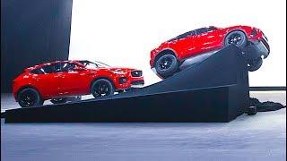 New 2018 Jaguar E Pace SUV Barrel Roll Live! Amazing New Jaguar SUV 2018 CARJAM TV HD