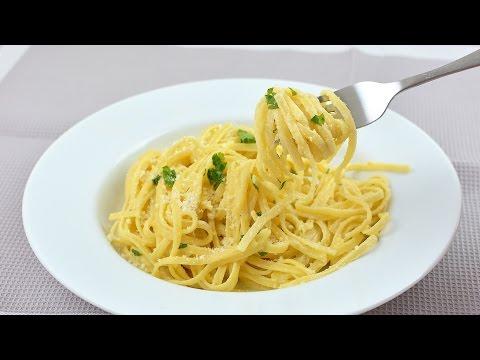 Creamy Parmesan Pasta - Quick & Easy Linguine Pasta Recipe