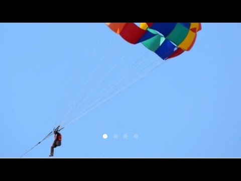 How to book slot for parasailing in Bangalore at Jakkur