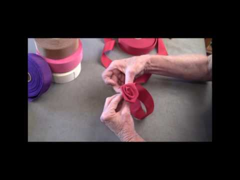 How to Sew: Ribbon Roses for Hats