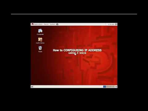 How to Configure  IP address in Red Hat LINUX 6