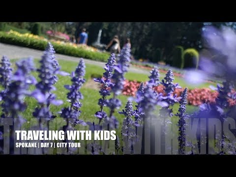 TRAVELING WITH KIDS | SPOKANE | DAY 7 | CITY TOUR