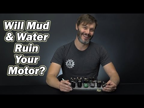 Brushless and Brushed motors in Water