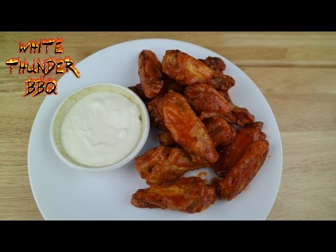 Buffalo Hot Wings | Authentic Grilled Buffalo Wings using the 'Wing Ring' Method