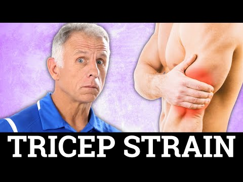 Absolute Best Treatment For Tricep Pain Strain
