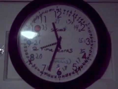 Skyscan Atomic Clock with 2 Time Zones *NEW*