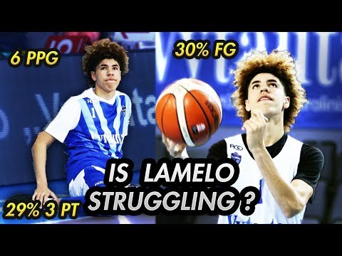 The TRUTH About LAMELO BALL STRUGGLING In Lithuania!