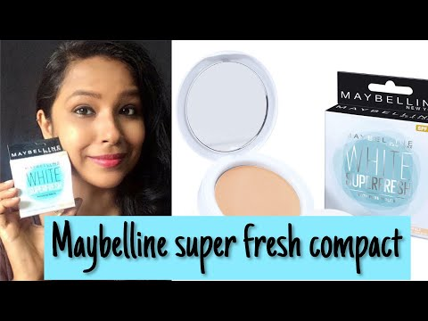 Maybelline Super Fresh Compact Review