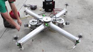 IncredibleHLQ - Heavy Lift Quadcopter - EngineTest