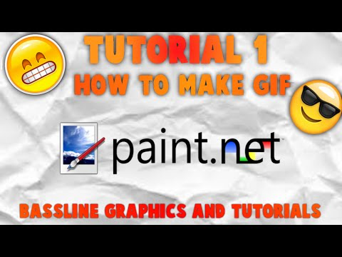 Tutorial 1 : How to make a Gif using Paint.net