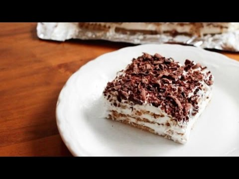 No Bake Graham Cracker Eclair Cake | 5 ingredients