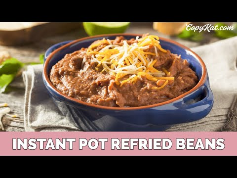 Pressure Cooker Refried Beans - Instant Pot