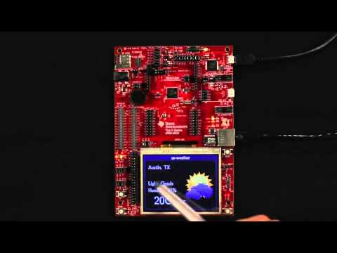Tiva™ C Series Connected Development Kit Weather Demo