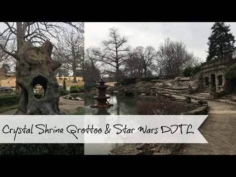 Day In The Life 12:30:2017 Crystal Shrine Grotto In Memphis And Star Wars