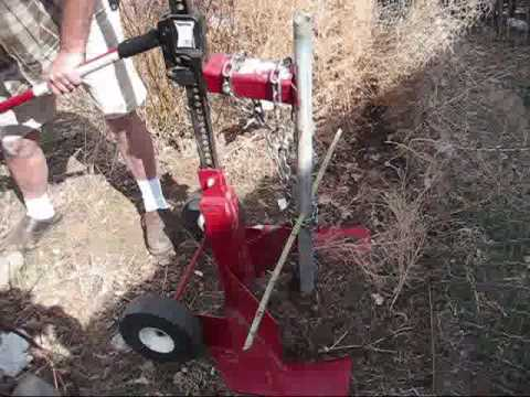 Fence Post Removal