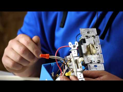How to Wire a Ceiling Fan With a Light With Different Switches : Ceiling Fan Projects